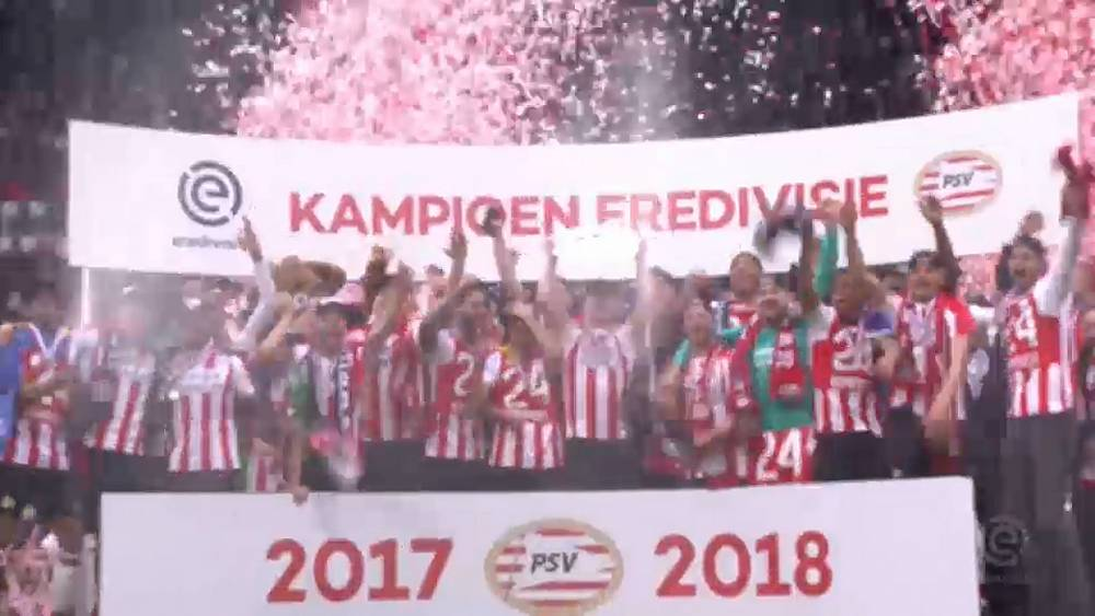 PSV Eindhoven wrap up 24th Dutch League title | Euronews