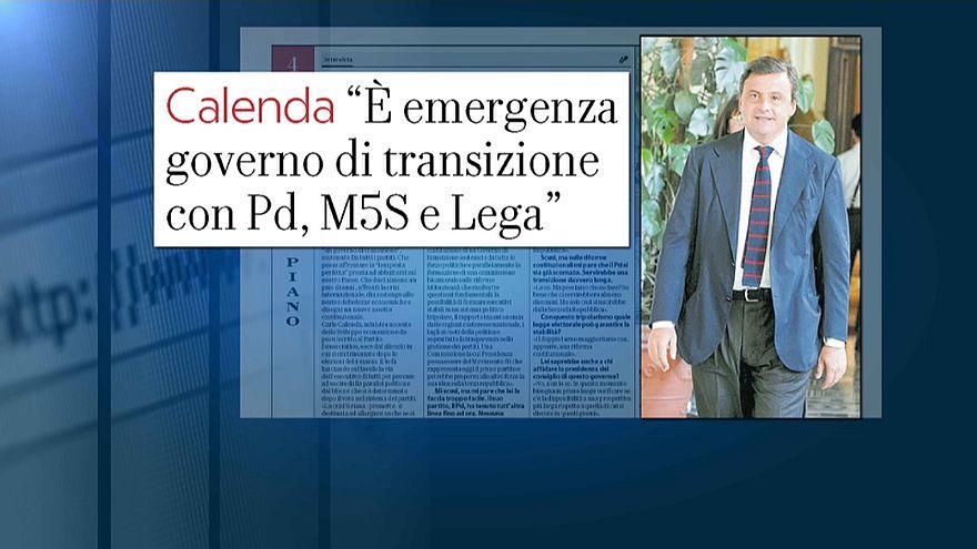 """""""Governo d'emergenza"""". Il ministro Calenda propone un esecutivo Cdx-Pd-M5s"""