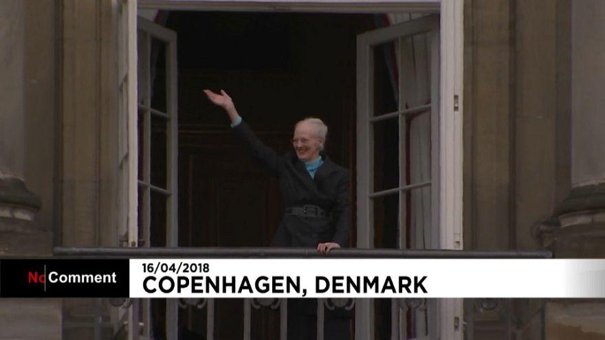 Danimarka Kraliçesi İkinci Margrethe 78 yaşında