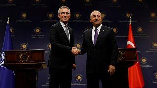 Stoltenberg und Çavuşoğlu in Ankara