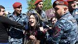 Proteste in der armenischen Hauptstadt