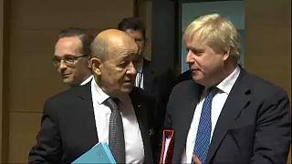 Chefes da diplomacia europeia reuniram-se no Luxemburgo