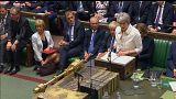 May verteidigt Militärschlag vor dem - nicht gefragten - Parlament