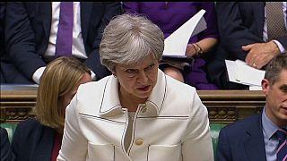 Тереза Мэй выступила в парламенте