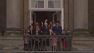 Raínha Margrethe da Dinamarca tem 78 anos