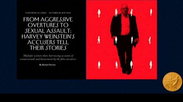 NYT y The New Yorker ganan el Pulitzer por su investigación sobre Harvey Weinstein