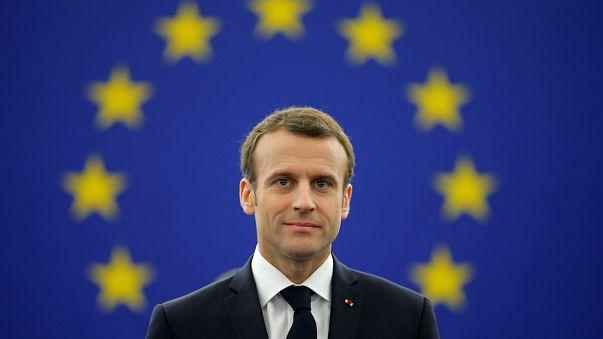 """Macron all'Europarlamento:  """"No democrazia autoritaria, si autorità della democrazia"""""""