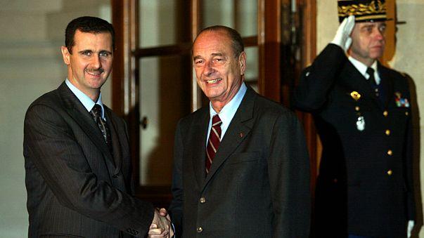 فرانسه نشان لژیون دونور را  از بشار اسد پس می گیرد