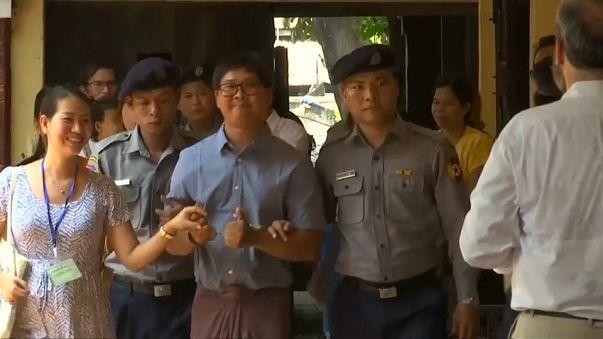 Antiga Birmânia: Amnistia deixa de fora jornalistas da Reuters