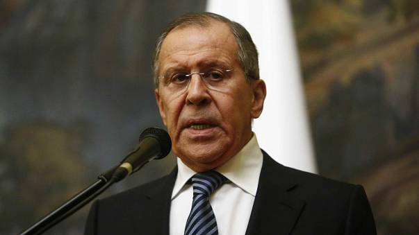 Russia's Sergei Lavrov has sought to sow doubts over chemical attacks