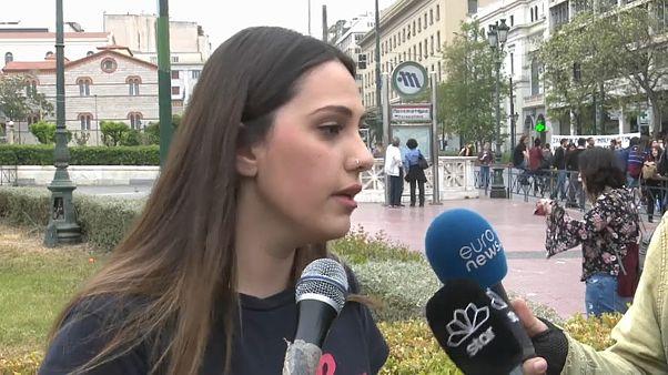 Vera, studentessa greca di origini siriane