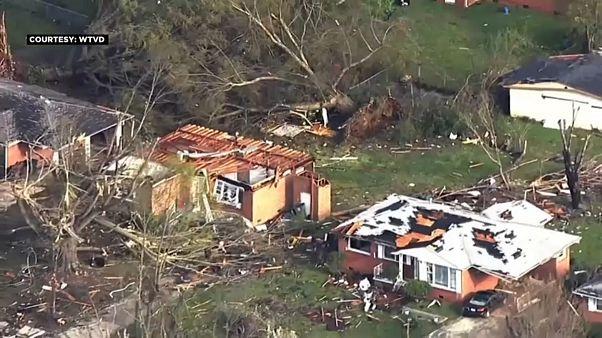 آمریکا؛ گردباد مرگبار در کارولینای شمالی