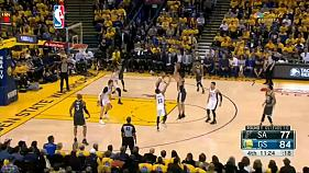 Play Off NBA: i Golden State warriors conVincono contro gli Spurs