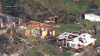 Usa: tornado investe la Carolina del Nord, un morto e ingenti danni