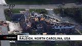 Kasırganın ardından Kuzey Carolina