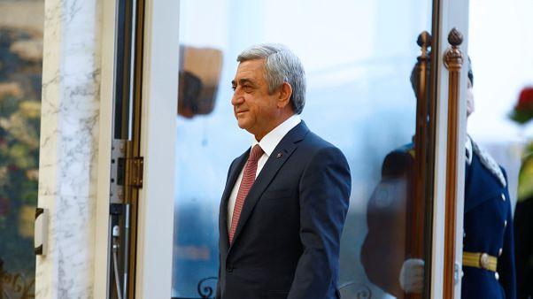 Серж Саргсян избран премьер-министром Армении