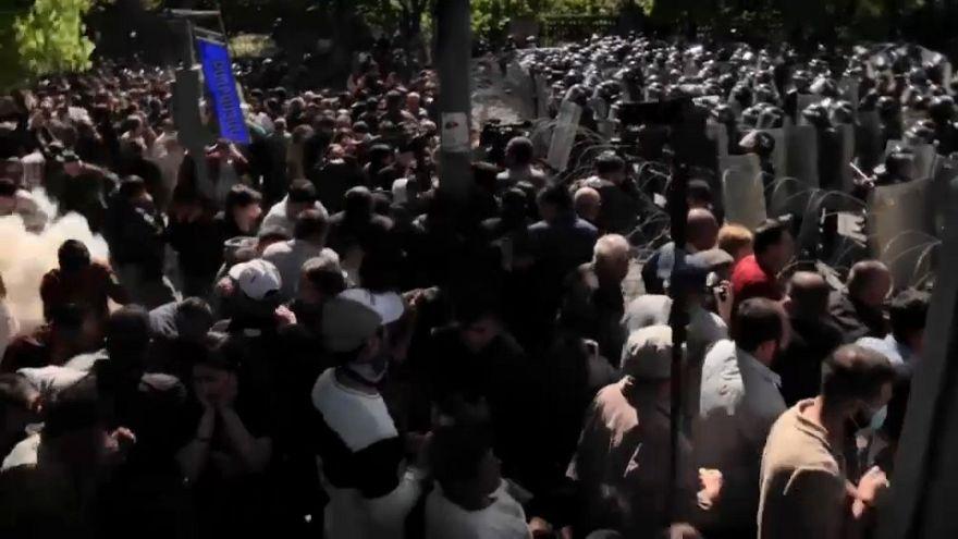 La colère des opposants arméniens