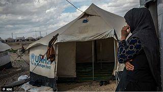 زنان آوارۀ عراقی؛ قربانی استثمار جنسی در اردوگاهها
