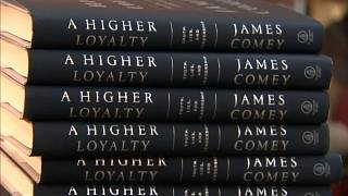 Livro de Comey sobre administração Trump chega às livrarias