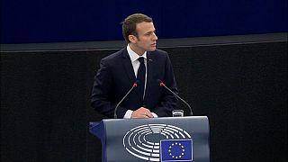 Macron AB projesini AP'ye anlattı
