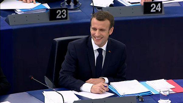 «Ευρωπαϊκή κυριαρχία» ζήτησε ο Μακρόν