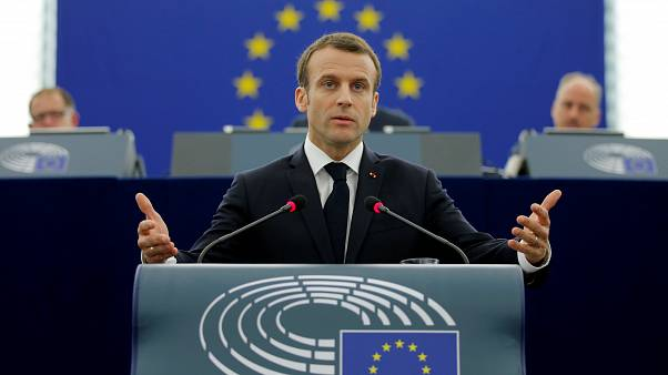 A Strasburgo Macron non convince gli euroscettici