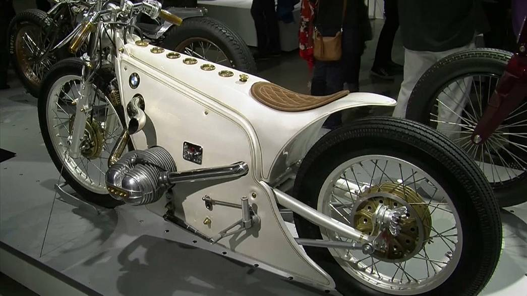 A Los Angeles la mostra delle moto custom