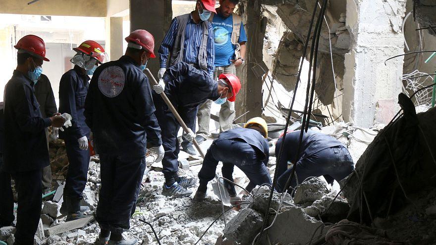 رائحة الموت ما زالت تفوح في الرقة السورية