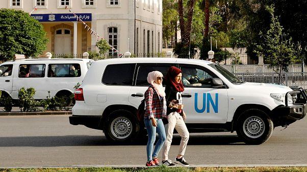 OPCW inspectors in Damascus