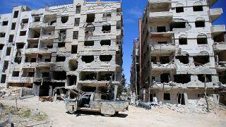Début de l'enquête de l'OIAC à Douma