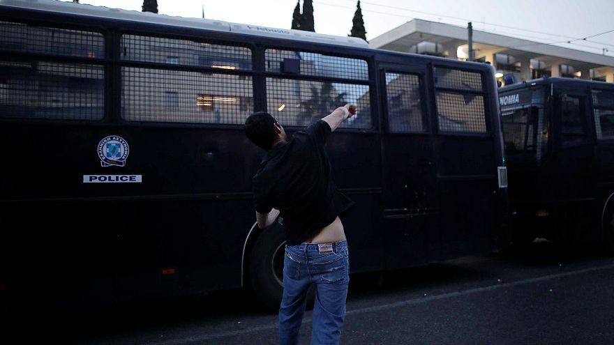Görög kommunisták tüntettek Szíria miatt