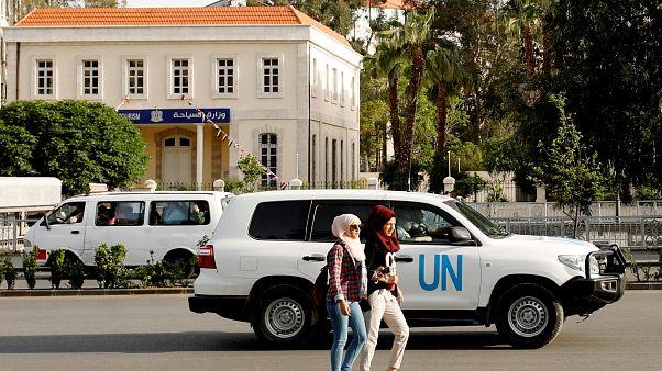 Inspetores chegam a Douma para investigar alegado ataque químico