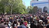 شاهد: مظاهرات في أرمينيا ضد ترشيح سركسيان لرئاسة الحكومة