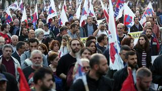 Αντιπολεμικό συλλαλητήριο στην Αθήνα
