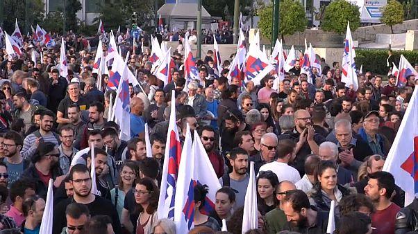 Grecia, quarto giorno di manifestazioni anti-Usa