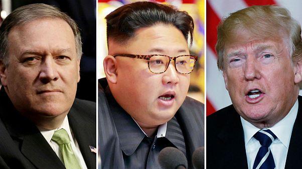 دیدار مخفیانه مایک پمپئو مدیر سیا با رهبر کره شمالی