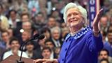 Elhunyt Barbara Bush volt first lady