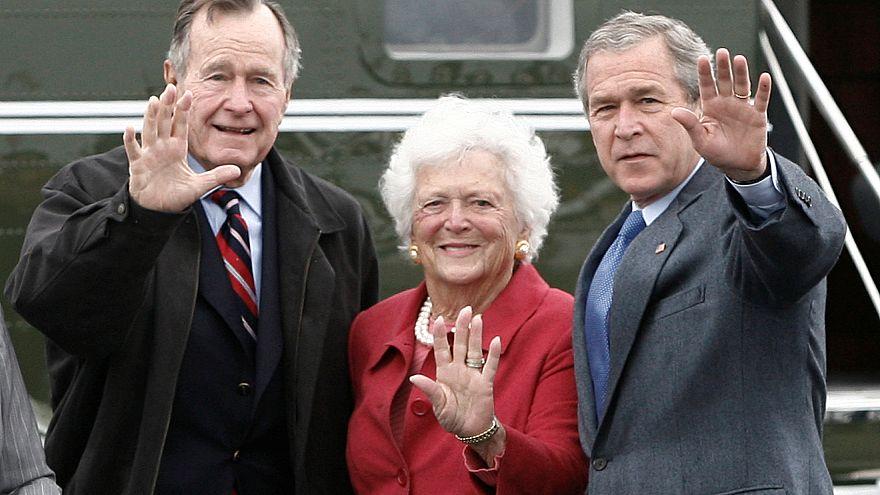 Trauer um frühere First Lady Barbara Bush († 92)