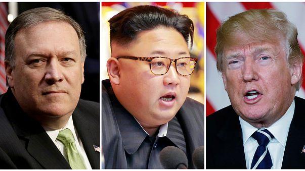 Reunión secreta entre Mike Pompeo y Kim Jong-un