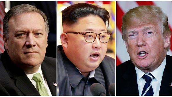 Mike Pompeo prepara uma cimeira entre Kim Jong Un e Donald Trump