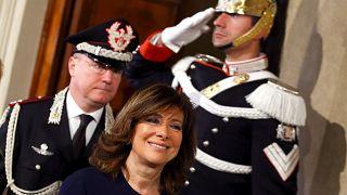 Italie : la présidente du Sénat chargée de former un gouvernement