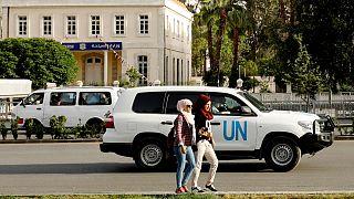 تیراندازی به تیم امنیتی سازمان ملل در دوما کار بازرسان تسلیحات شیمیایی را به تاخیر انداخت