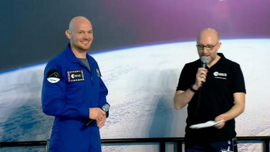 Un Allemand futur commandant de l'ISS