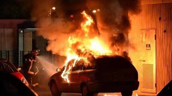 Fransa'nın Toulouse kentinde banliyö isyanı