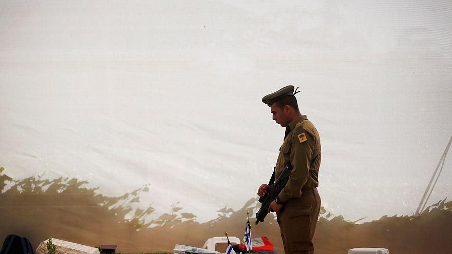 Dois minutos de silêncio em Israel