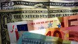 یورو و دلار آمریکا