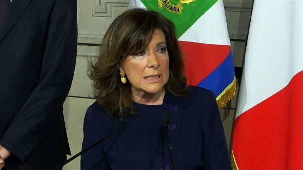 La presidenta del Senado italiano intentará mediar entre los partidos