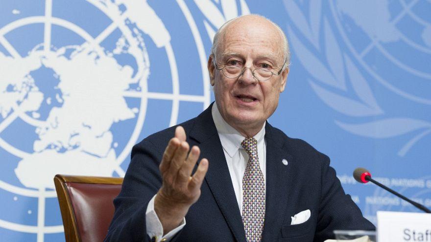 المبعوث الأممي المعني بسوريا ستيفان دي مستورا