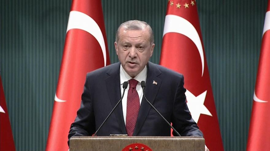 Erdogan adelanta las elecciones en Turquía
