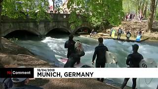 Поймай волну в Мюнхене